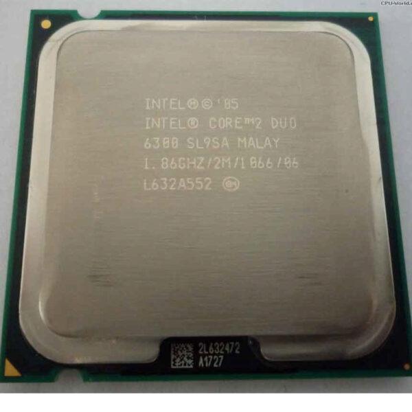 cpu intel core 2 duo e6300